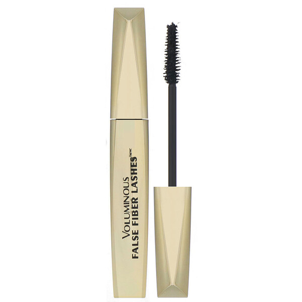 L'Oreal, Voluminous False Fiber Lashes Mascara, 270 Blackest Black, 0.34 fl oz (10 ml)