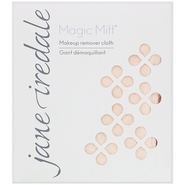 Jane Iredale, Magic Mitt, Makeup Remover Cloth, 1 Count