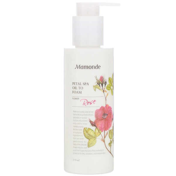 Mamonde, Petal Spa Oil to Foam, 175 ml
