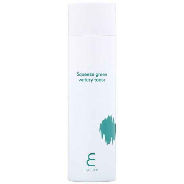 E-Nature, Squeeze Green Watery Toner, 5 fl oz (150 ml)