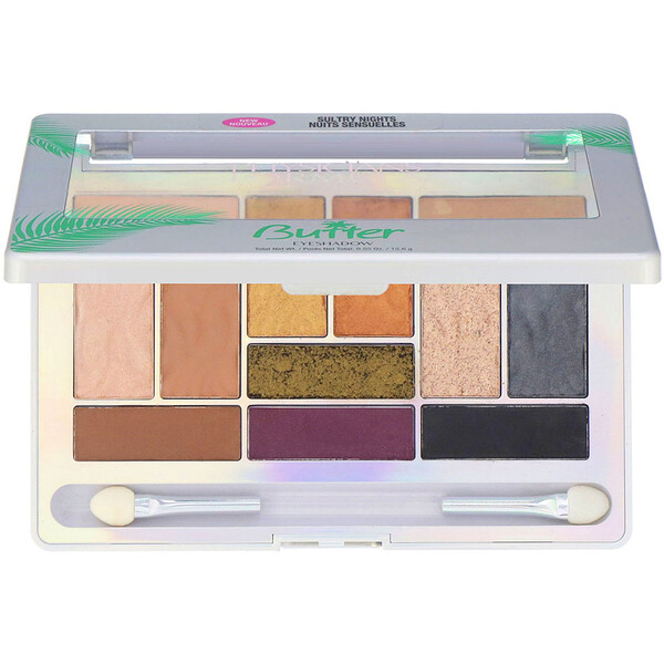 Physicians Formula, Butter Eyeshadow Palette, Sultry Nights, 0.55 oz (15.6 g)