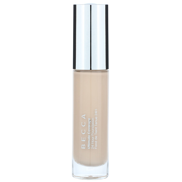Becca, Ultimate Coverage, 24 Hour Foundation, Linen, 1.0 fl oz (30 ml)