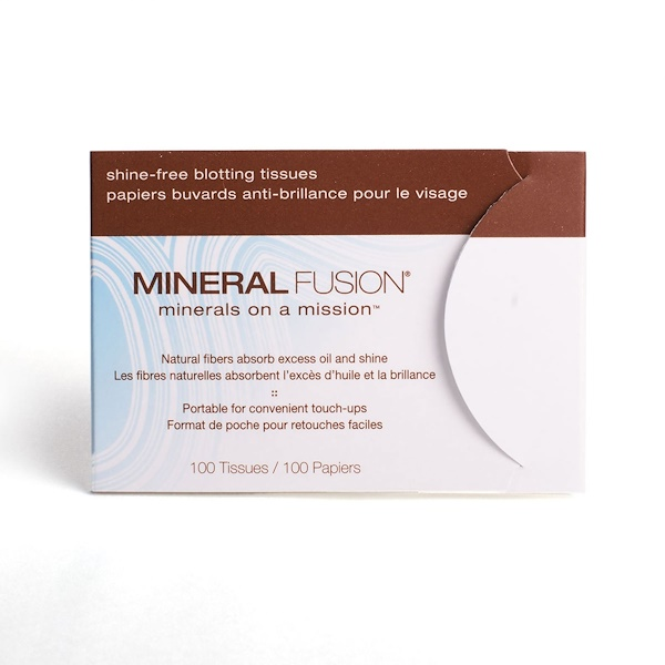 Mineral Fusion, Mineral Fusion, Shine-free, Blotting Tissues, 100 Tissues
