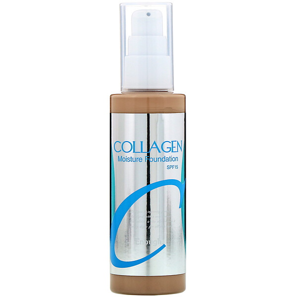 Enough, Collagen, Moisture Foundation, SPF 15, #21, 3.38 fl oz (100 ml)