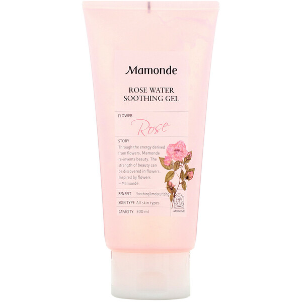 Mamonde, Rose Water Soothing Gel, 300 ml