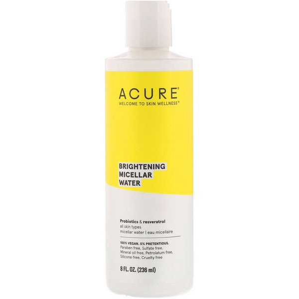 Acure, Brightening Micellar Water, 8 fl oz (236 ml)