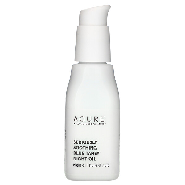 Acure, Seriously Soothing, Blue Tansy Night Oil, 1 fl oz (30 ml)