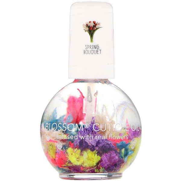 Blossom, Cuticle Oil, Spring Bouquet, 0.42 fl oz (12.5 ml)