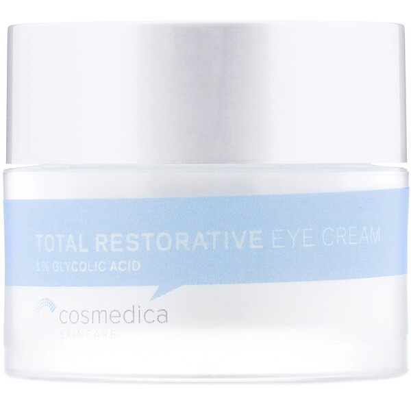 Cosmedica Skincare, Total Restorative Eye Cream, 0.7 oz (20 g)
