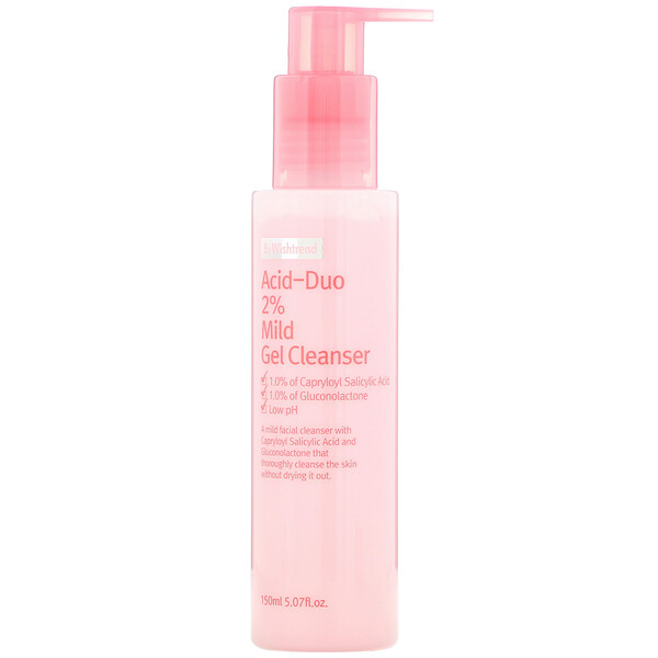 Wishtrend, Acid-Duo 2% Mild Gel Cleanser, 5.07 fl oz (150 ml)