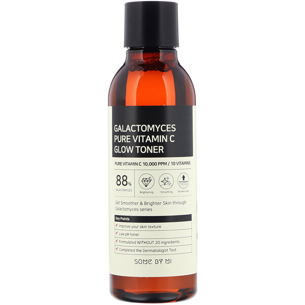 Some By Mi, Galactomyces Pure Vitamin C Glow Toner, 200 ml