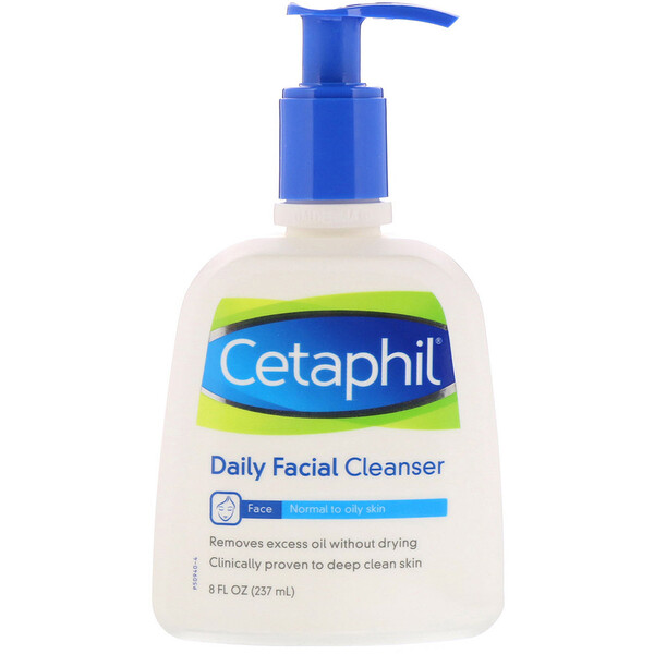 Cetaphil, Daily Facial Cleanser, 8 fl oz (237 ml)