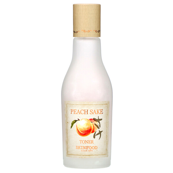 Skinfood, Peach Sake Toner, 4.56 oz (135 ml)