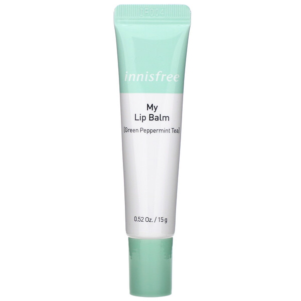 Innisfree, My Lip Balm, Green Peppermint Tea, 0.52 oz (15 g)