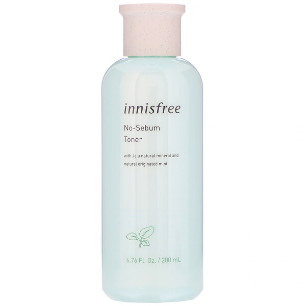 Innisfree, No-Sebum Toner, 6.76 fl oz (200 ml)