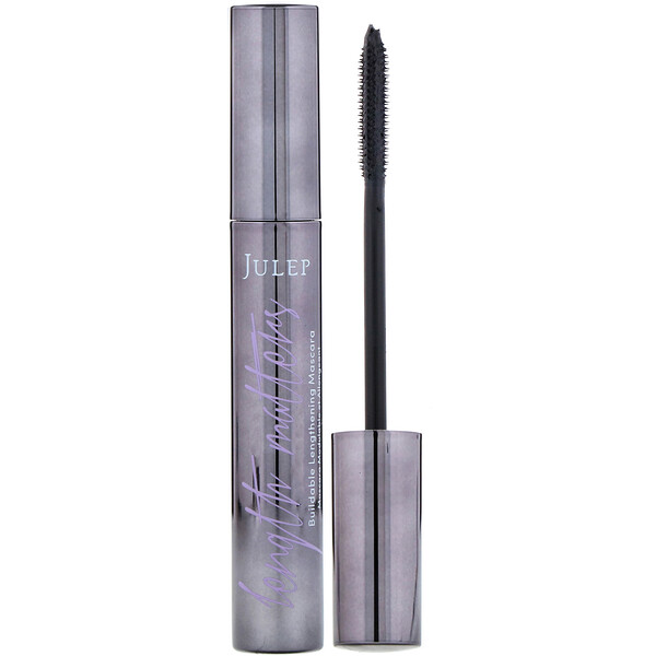 Julep, Length Matters, Buildable Lengthening Mascara, Jet Black, 0.35 oz (10.1 g)