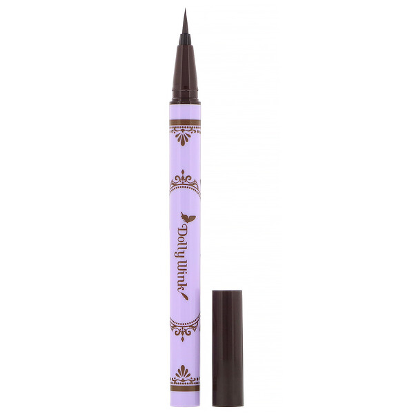 Koji, Dolly Wink, Liquid Eyeliner, Dark Brown, 0.2 fl oz (7 ml)