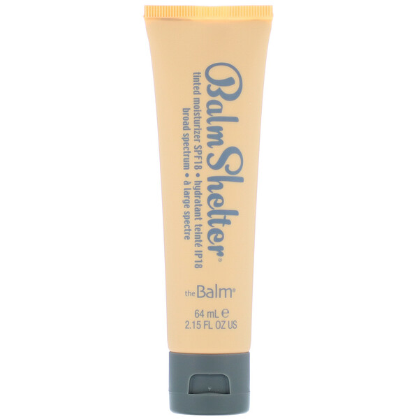 theBalm Cosmetics, Balm Shelter Tinted Moisturizer, SPF 18, Medium Dark, 2.15 fl oz (64 ml)