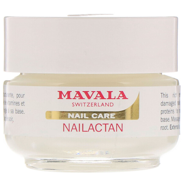 Mavala, Nailactan, Nutritive Nail Cream, 0.5 oz (15 ml)