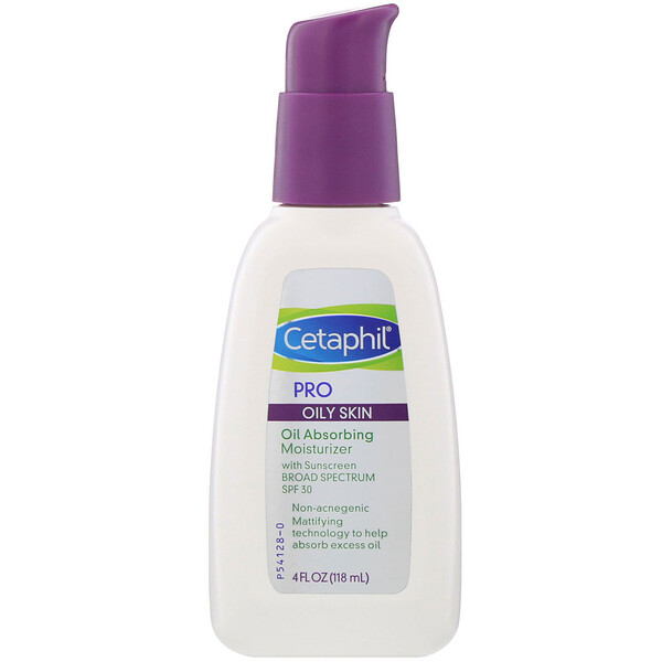 Cetaphil, Pro, Oil Absorbing Moisturizer, SPF 30, 4 fl oz (118 ml)