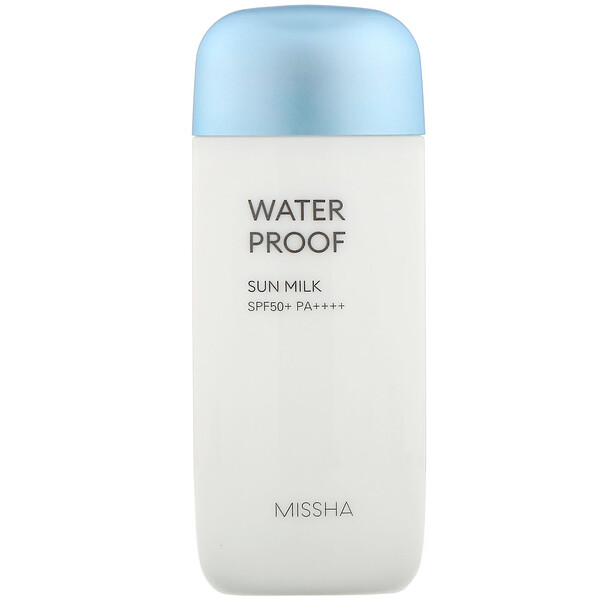Missha, Waterproof Sun Milk, SPF 50+ PA+++, 2.36 fl oz (70 ml)