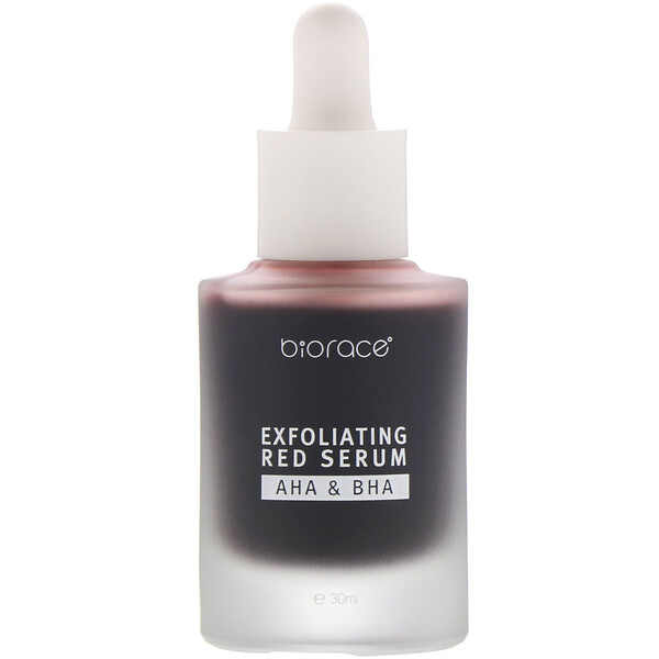 Biorace, Exfoliating Red Serum, AHA & BHA, 1.01 oz (30 ml)