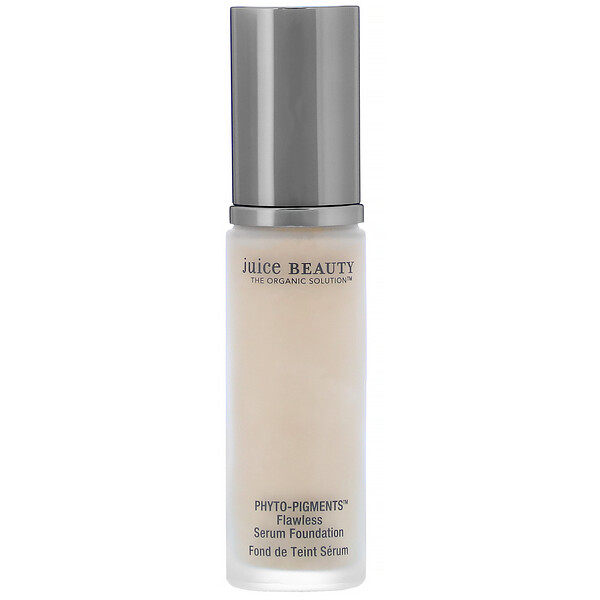 Juice Beauty, Phyto-Pigments, Flawless Serum Foundation, 08 Cream, 1 fl oz (30 ml)