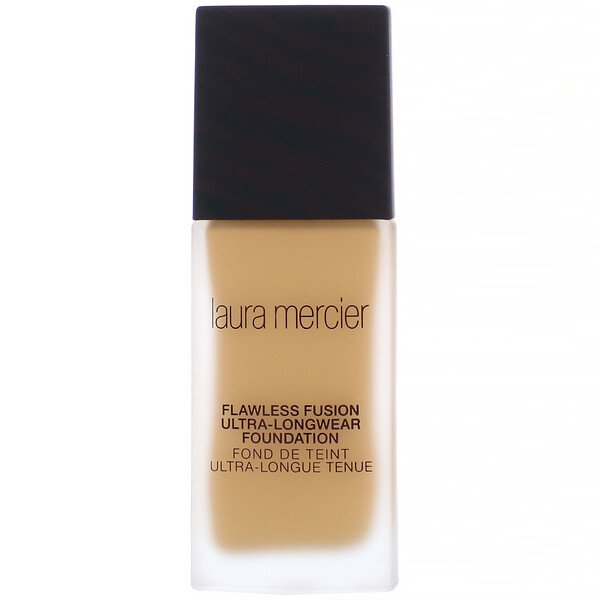 Laura Mercier, Flawless Fusion, Ultra-Longwear Foundation, 4W1 Maple, 1 fl oz (30 ml)