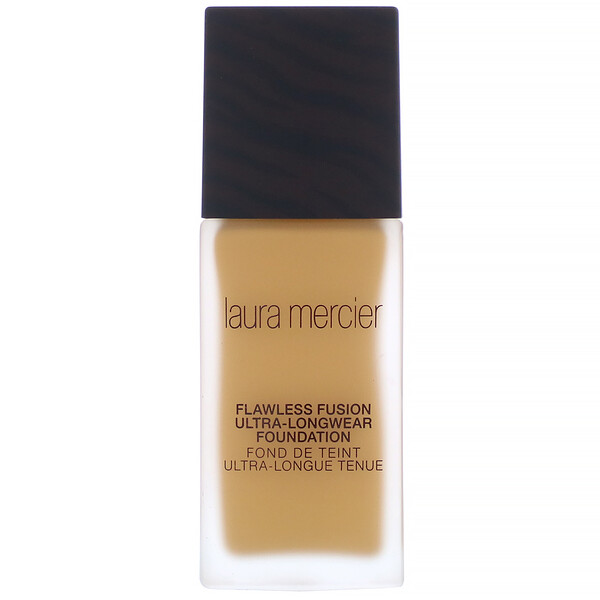 Laura Mercier, Flawless Fusion, Ultra-Longwear Foundation, 5W1 Amber, 1 fl oz (30 ml)