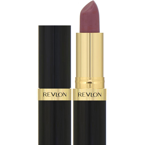 Revlon, Super Lustrous, Lipstick, 473 Mauvy Night, 0.15 oz (4.2 g)