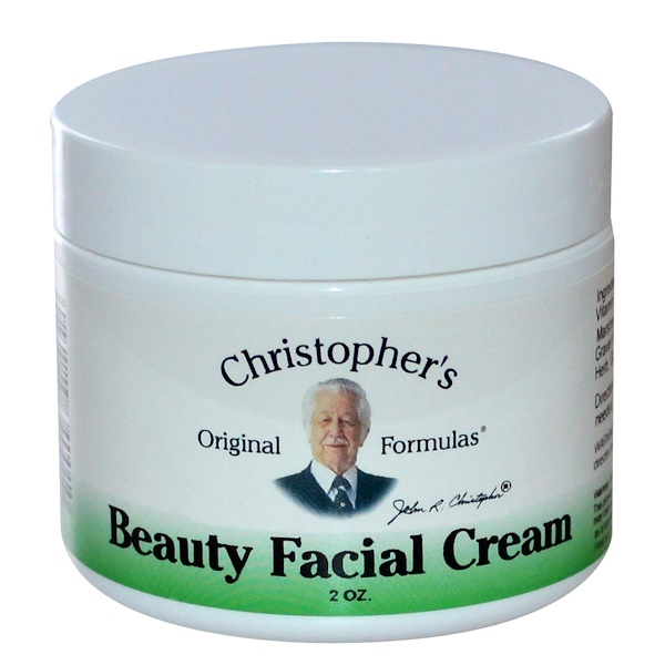 Christopher's Original Formulas, Beauty Facial Cream, 2 oz