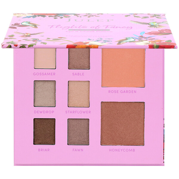 Julep, Flights of Fancy, Equinox, Eye & Cheek Palette, 0.21 oz (5.9 g)
