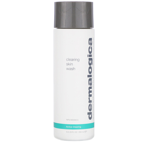 Dermalogica, Active Clearing, Clearing Skin Wash, Breakout Clearing Cleanser, 8.4 fl oz (250 ml)