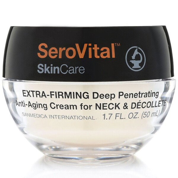 SeroVital, Anti-Aging Cream for Neck & Decollete, Extra Firming, 1.7 fl oz (50 ml)