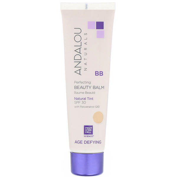 Andalou Naturals, BB Perfecting Beauty Balm, Age Defying, SPF 30, Natural Tint, 2 fl oz (58 ml)