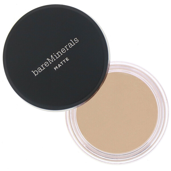 bareMinerals, Matte Foundation, SPF 15, Neutral Ivory 06, 0.21 oz (6 g)