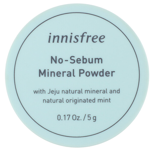 Innisfree, No-Sebum Mineral Powder, 0.17 oz (5 g)