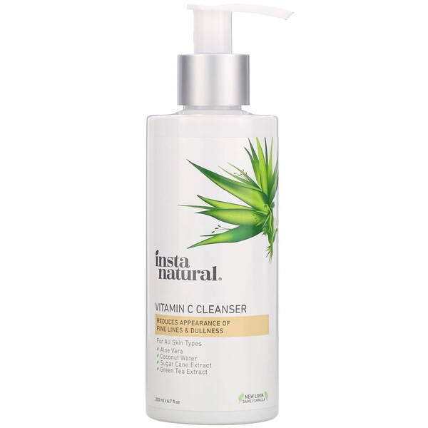 InstaNatural, Vitamin C Cleanser, 6.7 fl oz (200 ml)