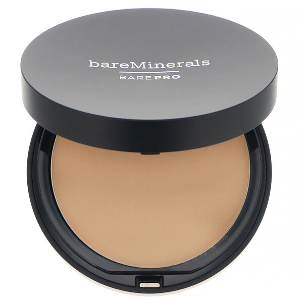 bareMinerals, BAREPRO, Performance Wear Powder Foundation, Warm Natural 12, 0.34 oz (10 g)