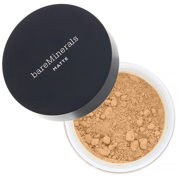 bareMinerals, Matte Foundation, SPF 15, Golden Ivory 07, 0.21 oz (6 g)