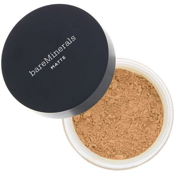 bareMinerals, Matte Foundation, SPF 15, Golden Nude 16, 0.21 oz (6 g)