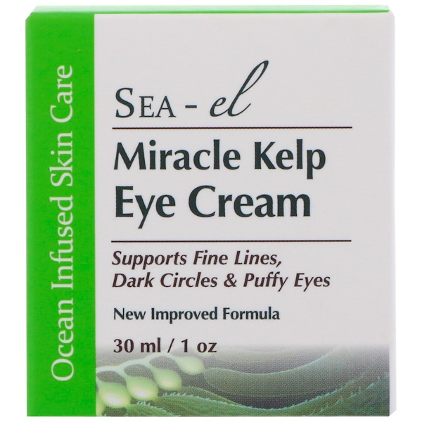 Sea el, Miracle Kelp Eye Cream, 1 oz (30 ml)