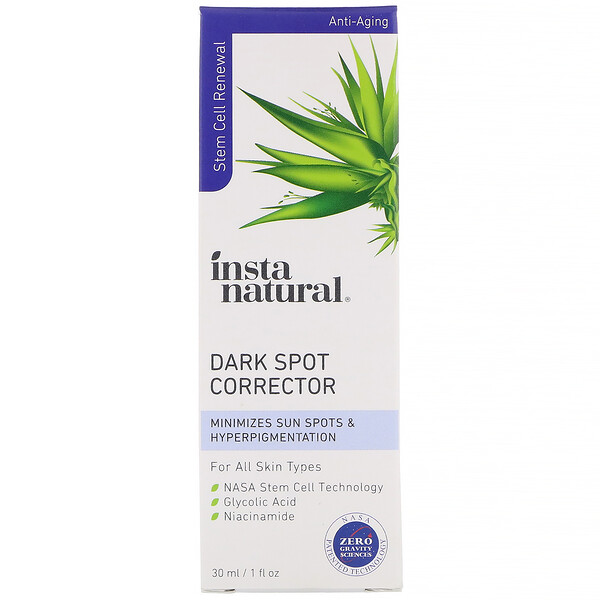 InstaNatural, Dark Spot Corrector, Anti-Aging, 1 fl oz (30 ml)