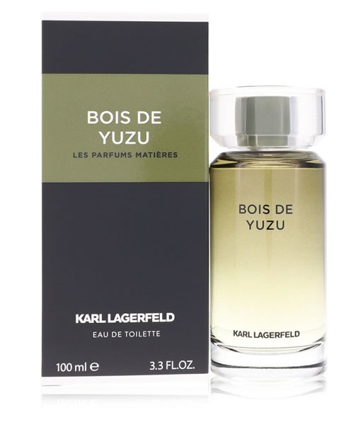KARL LAGERFELD BOIS DE YUZU LES PARFUMS MATIERES EDT FOR MEN