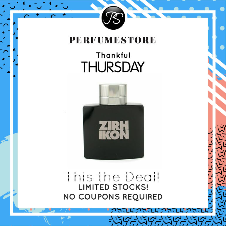ZIRH IKON EDT FOR MEN 75ML [THANKFUL THURSDAY SPECIAL]