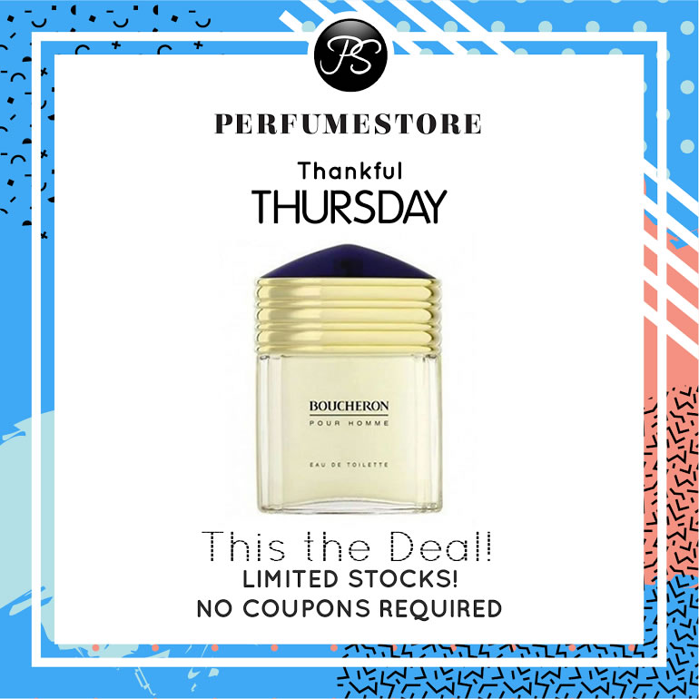 BOUCHERON EDT FOR MEN 100ML [THANKFUL THURSDAY SPECIAL]
